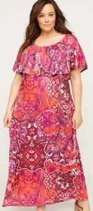 Catherines 4x maxi dress